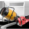 Бензо-,-электроинструмент и теплооборудование