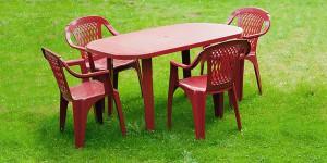 Пластиковая мебель скидка 25%